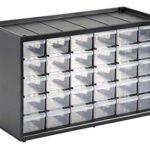 Caja herramientas con organizador