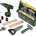 Caja herramientas juguetes niños bosch