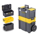 Caja herramientas ruedas stanley