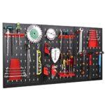 Panel perforado para herramientas