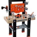 Smoby   black + decker banco herramientas de juguete para niños (360701)